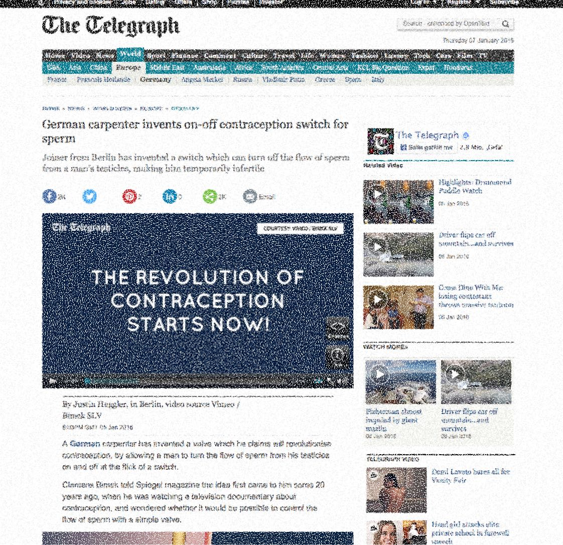 Medienecho Telegraph